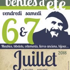 EMMAUS MOULINS-VENTE ÉTÉ 2018